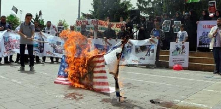 BÜYÜK ŞEYTAN ABD YARIN SAKARYA'DA PROTESTO EDİLECEK