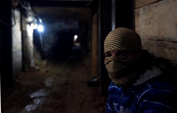 GAZZE'DE DİRENİŞE AİT BU TÜNEL İLK KEZ GÖRÜNTÜLENDİ (VİDEO)