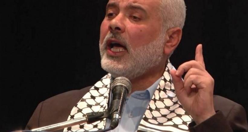 İSMAİL HENİYYE: SİYONİST İSRAİL ARAP ÜLKELERİYLE YAPTIĞI ANLAŞMALARLA İRAN'A YAKIN BÖLGELERDE ASKERİ ÜSLER KURMAK İSTİYOR