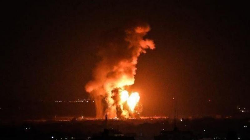 SON DAKİKA: SİYONİST ORDU GAZZE'YE FÜZE SALDIRISI DÜZENLEDİ