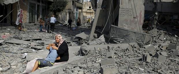 UNRWA GAZZE'DEKİ MÜLTECİLERE GIDA KOLİSİ DAĞITIMINI DURDURDU